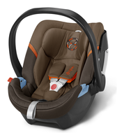 Cybex Aton 4 in Coffee Bean - brown, Isofix möglich