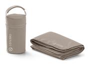 Concord Citybag Wickeltasche Detail: Flaschenhalter und Wickelunterlage