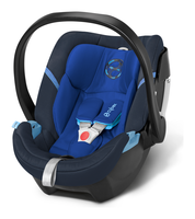 Cybex Aton 4 Royal Blue - blue, Isofix possible