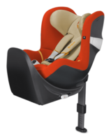 Cybex Sirona M2 I-Size incl. Base M Autumn Gold - burnt red