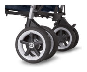 Cybex Onyx  with foot operated parking brake
