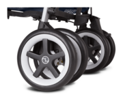 Cybex Topaz with foot operated parking brake