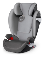 Cybex Solution M-Fix Manhattan Grey - mid grey, Isofix