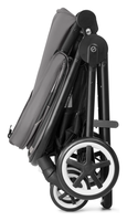 Cybex Iris M-Air selfstanding when folded