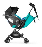 Goodbaby Pockit+ mit Babyschale als Reisesystem
