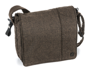 Moon Wickeltasche City brown - melange