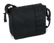 Moon Wickeltasche City black - melange