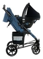 Moon Flac als Reisesystem mit Babyschale