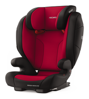 Recaro Monza Nova Evo Seatfix Racing Red, Isofix