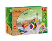 Baufix Airplane with 37 Baufix wooden parts, item 13110150