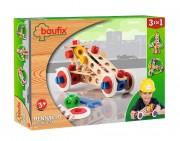 Baufix Racecar with 60 Baufix wooden parts, item 13110250