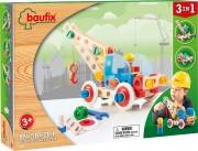 Baufix Bau mit Tim with 80 Baufix wooden parts, item 13110350