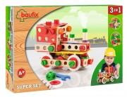 Baufix Super Set with 103 Baufix wooden parts, item 13110415
