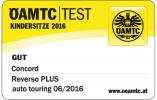 good result at ÖAMTC Test 06/2016: Concord Reverso.Plus