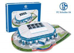 Giochi Preziosi 70002131 - 3D Stadion Puzzle Veltins Arena Schalke 04