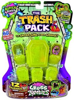 Giochi Preziosi 70684951 - Trash Pack Gross Zombies 12 Müllmonster with 6 coffins