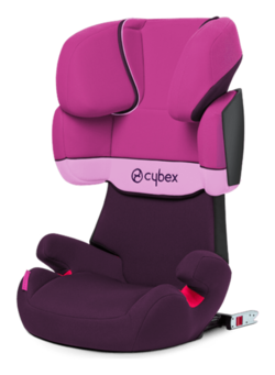 Cybex Solution X-fix in Purple Rain - purple, Isofix
