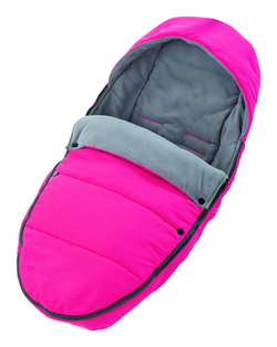 Footmuff for Recaro Citylife in pink