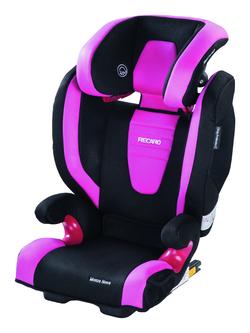Recaro Monza Nova 2 Seatfix in Pink, Isofix, Sonderaktion