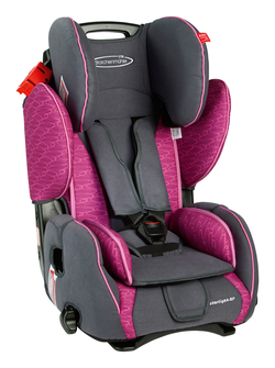 Storchenmühle Child Car Seat Starlight SP in rosy, Special Offer