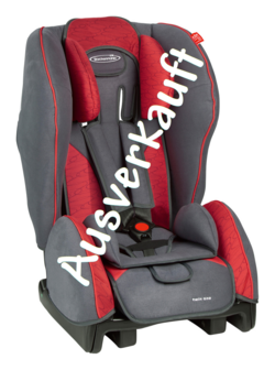Storchenmühle Kindersitz Twin One in chilli, Isofix möglich, - Sonderaktion -