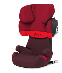 Cybex Solution X2-Fix in Rumba Red - dark red, Isofix