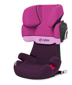 Cybex Solution X2-Fix in Purple Rain - purple, Isofix