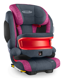Storchenmühle Solar IS Seatfix in rosy, Isofix - Special Offer -