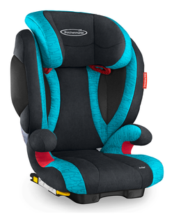 Storchenmühle Child Car Seat Solar 2 Seatfix in lagoon, Isofix - Special Offer -