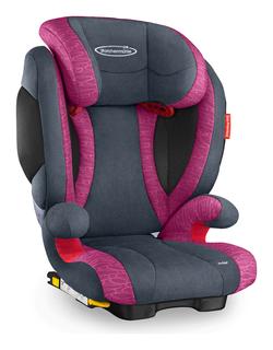 Storchenmühle Kindersitz Solar 2 Seatfix in rosy, Isofix - Sonderaktion -