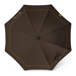 Concord parasol Sunshine in walnut brown