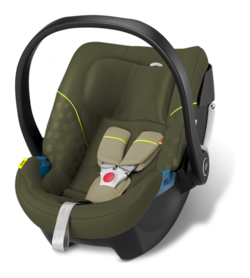 Goodbaby GB infant car seat Artio Lizard Khaki - khaki, Isofix possible