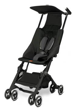 Goodbaby GB Buggy Pockit Monument Black - black