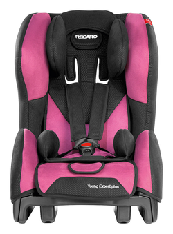 Recaro Young Expert Plus in Pink, Isofix possible