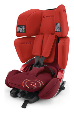 Concord Vario XT-5 Flaming Red, Isofix