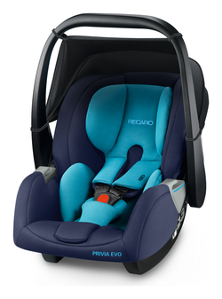 Recaro infant carrier Privia Evo Xenon Blue, Special offer