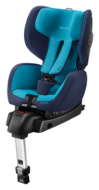 Recaro Optiafix Xenon Blue, Isofix