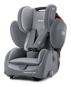 Recaro Young Sport HERO Aluminium Grey 2018 - Special Offer -