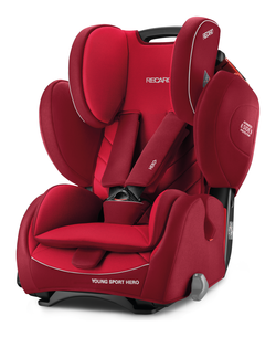 Recaro Young Sport HERO Indy Red 2018 - Special Offer -