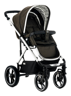 Moon LUSSO City with carry cot brown - fishbone