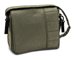Moon Wickeltasche Messenger Bag City olive - fishbone