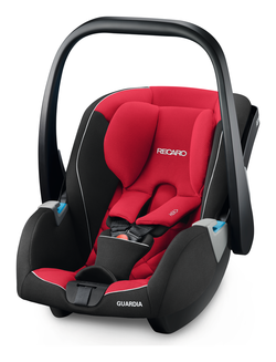 Recaro Guardia Racing Red, Isofix possible, Special offer