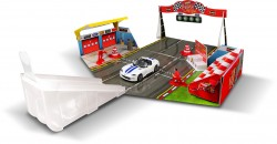 BBurago Open & Play SET 15630048, Race track, with 1 car, 1:43