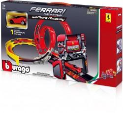 BBurago 15631301, Ferrari R&P GoGears Playset, inkl. 1 Auto