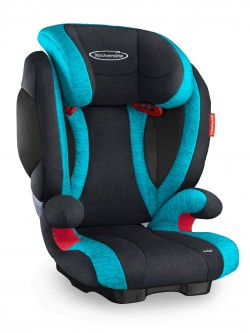 Storchenmühle Child Car Seat Solar 2 in lagoon, - Special Offer -