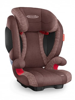 Storchenmühle Child Car Seat Solar 2 in chocco, - Special Offer -