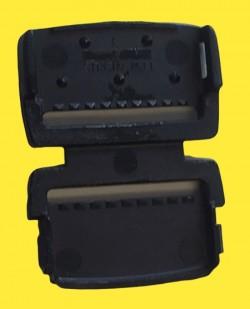 Ersatzteil Gurtbandendstück für Kindersitze Storchenmühle Starlight SP, - SP Pro, Recaro Young Sport, - Hero