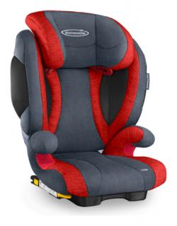 Storchenmühle Kindersitz Solar 2 Seatfix, Solar IS Seatfix (Isofix) mit Fangkörper in Chilli, Gruppe I-III, Lagerabverkauf