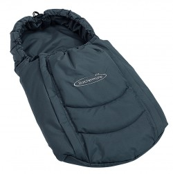 Storchenmühle Footmuff in grey for Storchenmühle Twin 0+ and Recaro Young Profi Plus