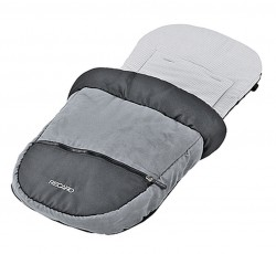 Recaro Foot Muff in Asphalt Grey for Buggy and Stroller
